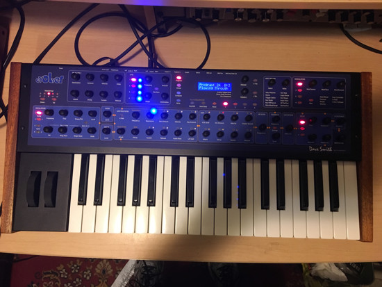 Picture of Dave Smith Instruments Mono Evolver Keyboard.